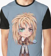 David Bowie - Chibi Labyrinth Goblin King Graphic T-Shirt