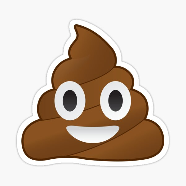 Pile de Poo emoji Sticker