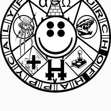 Official Church of Happycalypse logo by happycalypse