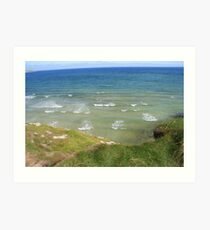 View form the Costal Path II Art Print