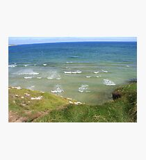 View form the Costal Path II Photographic Print