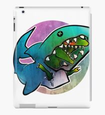 I'd rather be a shark iPad Case/Skin
