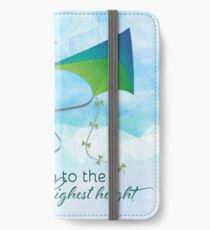 Let's Go Fly a Kite! Inspired by Mary Poppins iPhone Wallet/Case/Skin