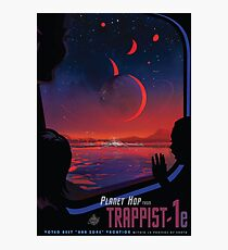 Trappist 1 -- Space Travel Poster Photographic Print