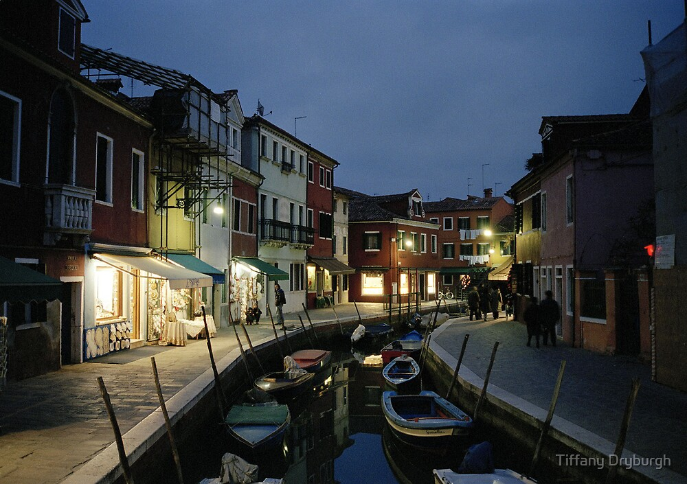 Dusk on Burano by Tiffany Dryburgh
