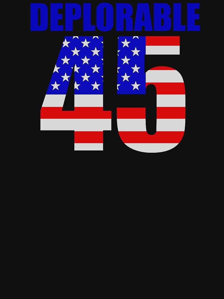 Deplorable 45  by Patriot76