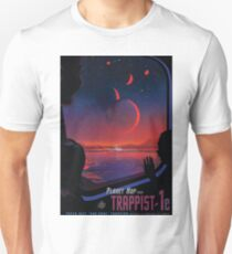 Trappist 1 -- Space Travel Poster T-Shirt