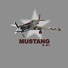 P-51 MUSTANG rc by Randall Robinson