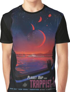 Trappist 1 -- Space Travel Poster Graphic T-Shirt