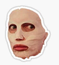 Alyssa Edwards Facial  Sticker