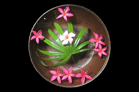 More Thai Floating Flower Arrangements by DAdeSimone