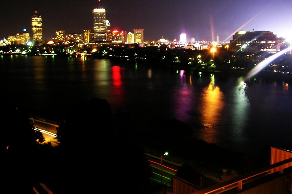Boston Nightlife by Kerri Kenel