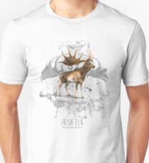 Irischer Elch Slim Fit T-Shirt