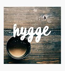 Hygge & Tea Photographic Print