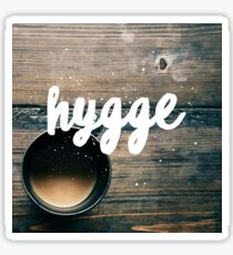 Hygge & Tea Sticker