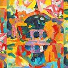 Balboa Park San Diego Abstract by RDRiccoboni