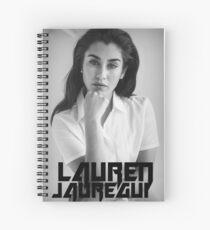 Cuaderno de espiral Lauren Black en negro