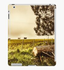 Rustic rural countryside landscape iPad Case/Skin
