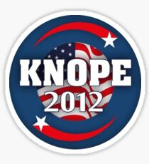 KNOPE for President 2012 Sticker