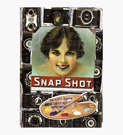 Snaphot(or The Art Of Drawing Without An Eraser) Photographic Print