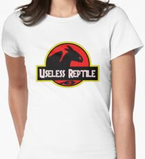 Toothless - Useless Reptile Womens Fitted T-Shirt
