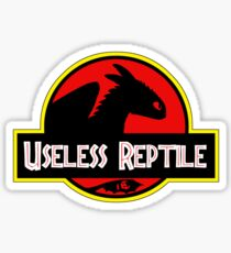 Toothless - Useless Reptile Sticker