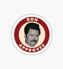 Ron Swanson approves Sticker