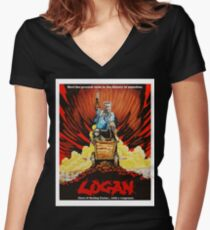 Logan Assassin Women's Fitted V-Neck T-Shirt