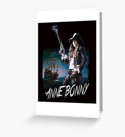 Anne Bonny Greeting Card