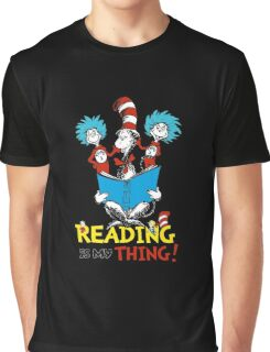 Dr Seuss Day Graphic T-Shirt