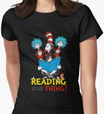 Dr Seuss Day Women's Fitted T-Shirt