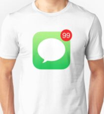 iMessage Notifications iPhone T-Shirt