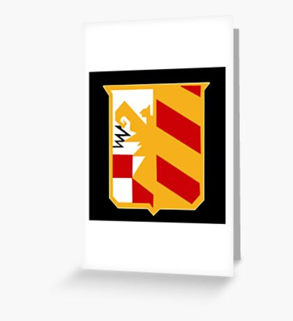 Auditore Family's Crest Greeting Card