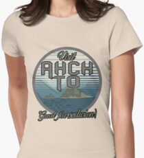Visit Ahch-To! Women's Fitted T-Shirt