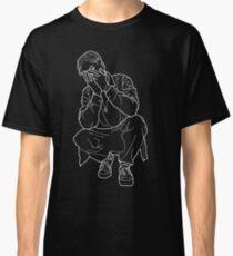 Black Bladee Outline Classic T-Shirt