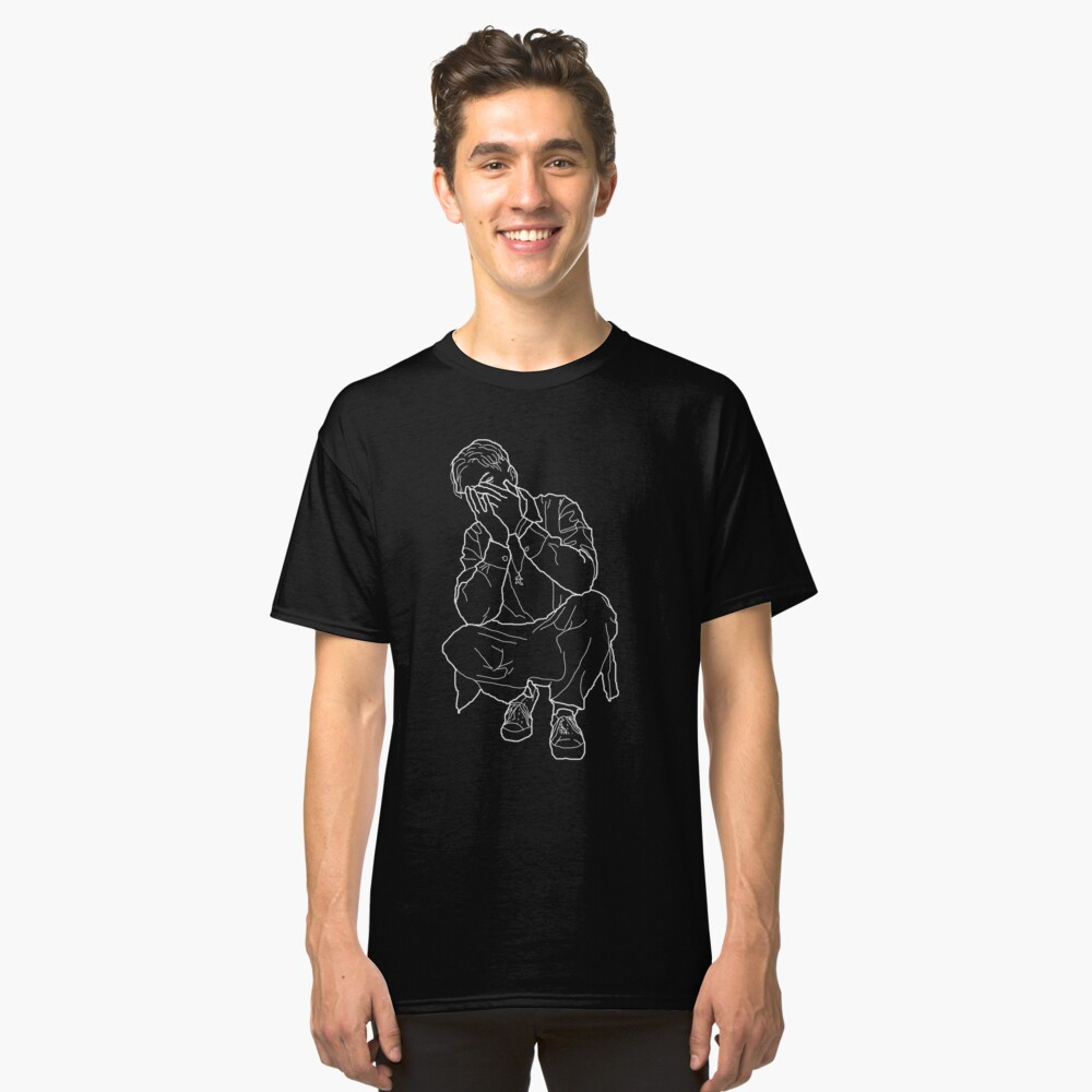 Black Blade Umriss Classic T-Shirt