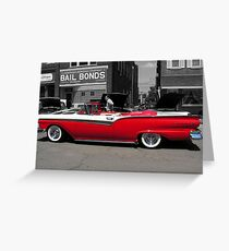 50's or Bust Greeting Card