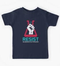 March For Science - RESIST - Political Protest Kids Tee