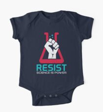 March For Science - RESIST - Political Protest One Piece - Short Sleeve