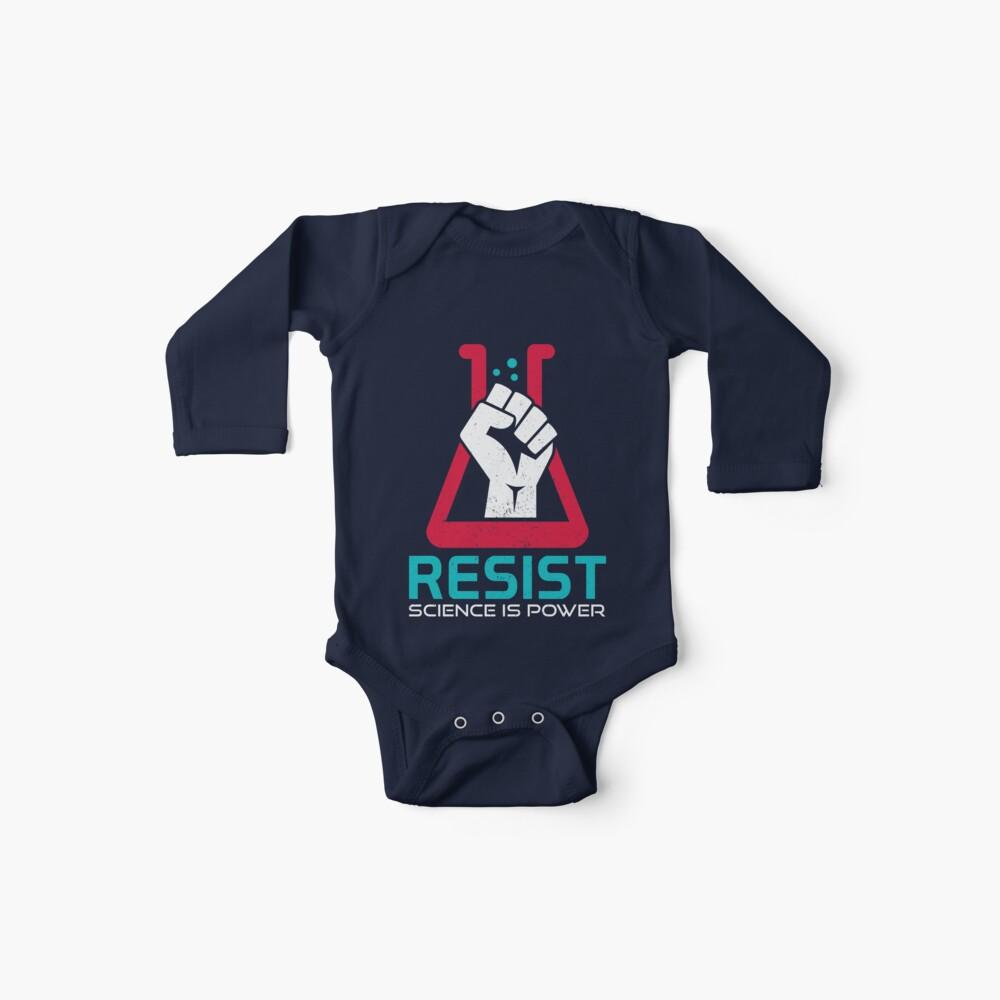 März für die Wissenschaft - WIDERSTAND - Politischer Protest Baby Bodys