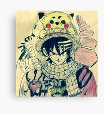 Ultimate Anime Crossover Canvas Print