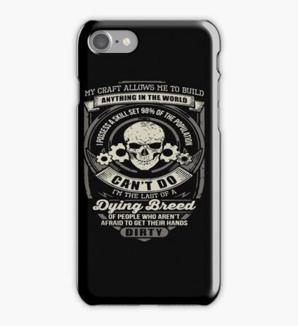 Mechanic engineer iPhone Case/Skin