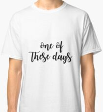 These Days - Foo fighters Classic T-Shirt