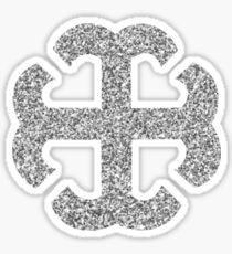 French Cross sticker  Sticker