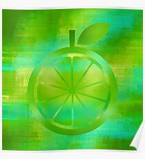 Lemon-Lime Poster