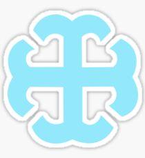 SMC French Cross Sticker  Sticker