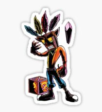 crash bandicoot Sticker