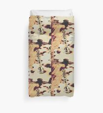 Games and puzzles Duvet Cover