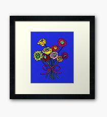 Owl Blossoms Framed Print