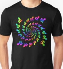 Rainbow Pony Spiral Explosion T-Shirt
